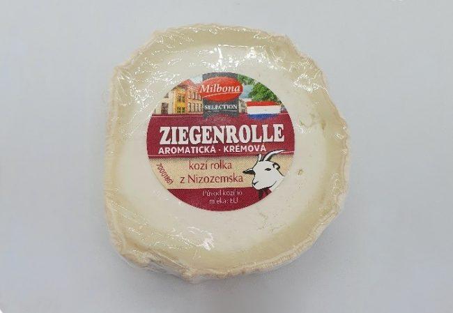 Sýr kozí rolka z Nizozemska