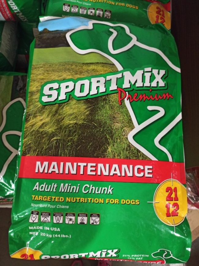 Krmivo Sportmix