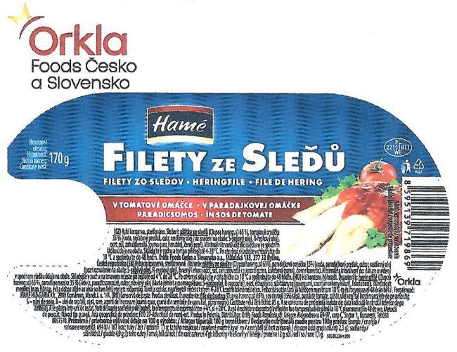 filety ze sleďů